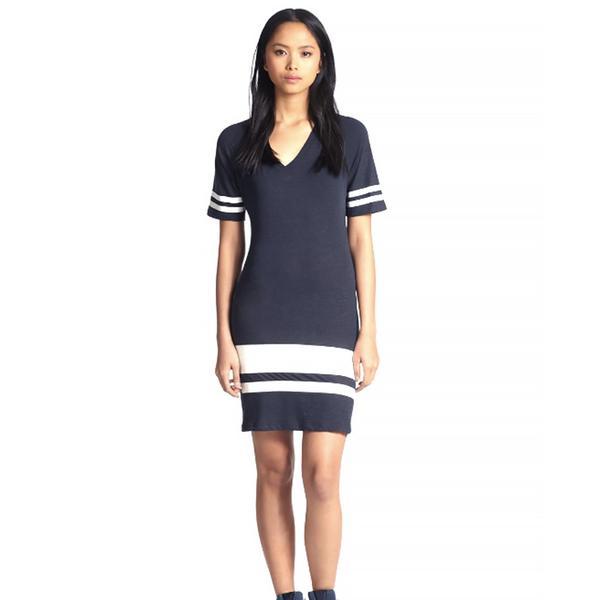Monrow Sports Jersey-Style Dress