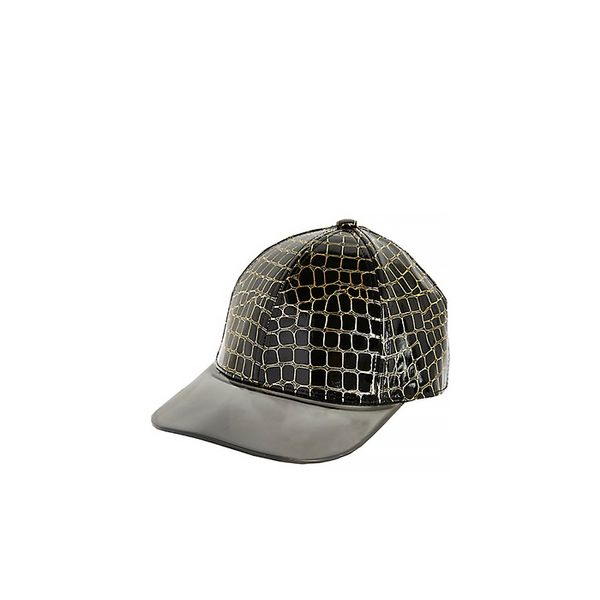 River Island Snake High Shine Trucker Hat