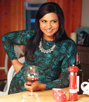 The Definitive Guide to Wearing Prints Like Mindy Kaling