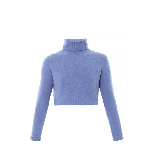 The Row Nenette Merino High-Neck Sweater