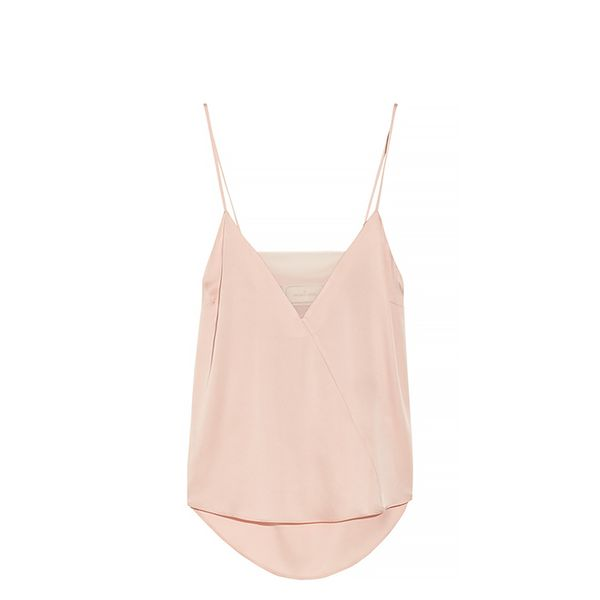 By Malene Birger Niharika Stretch-Silk And Georgette Camisole