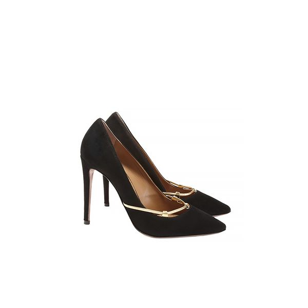 Aquazzura Black Amelie Pumps