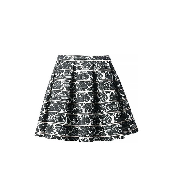 Elizabeth & James Morrison Printed Skirt