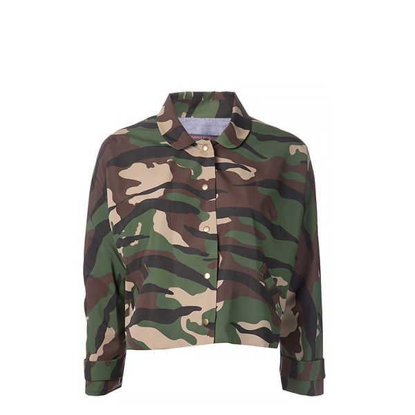 Harvey Faircloth Camo Print Jacket