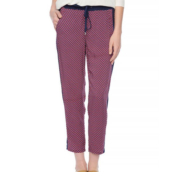 Splendid Harbor Geo Print Track Pants