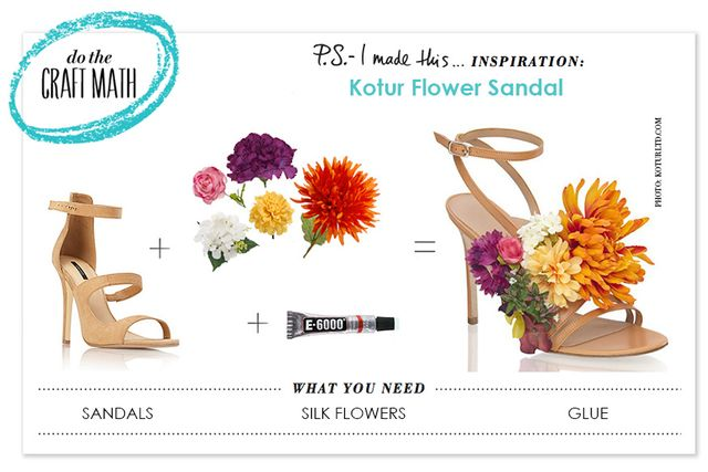 DIY: The Perfect Embellished Sandals For Spring