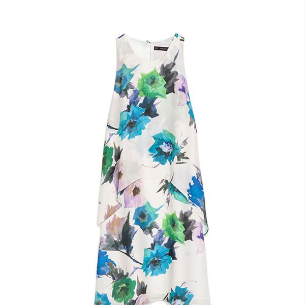 Zara Layered Printed Dress