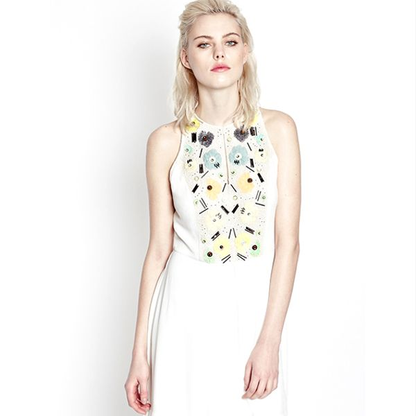 French Connection Summer Lilli Embellished Dress