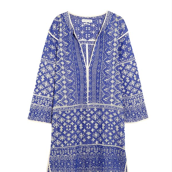 Etoile Isabel Marant Bloom Woven Cotton-Blend Mini Dress