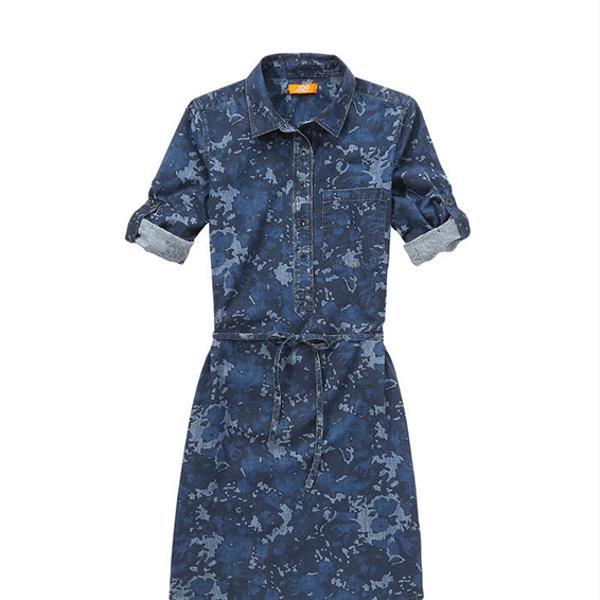 Joe Fresh Camo Print Shirt Dress