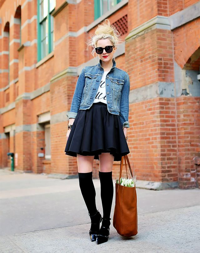 T-Shirt + Full Skirt