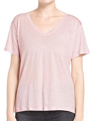 J Brand Janis V Neck T Shirt
