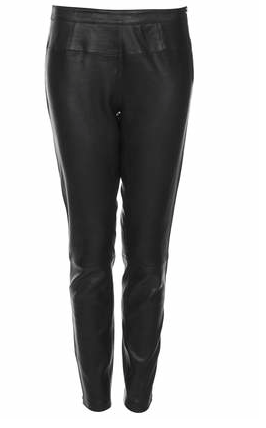 Topshop Boutique Leather Trousers