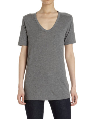 T by Alexander Wang Heathered Tee
