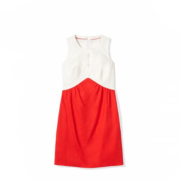 To Tommy,Love Zooey Sleeveless Colorblocked Dress