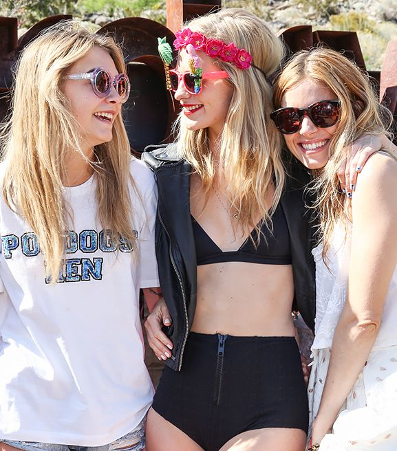 The Best Celebrity Looks From Weekend One Of Coachella