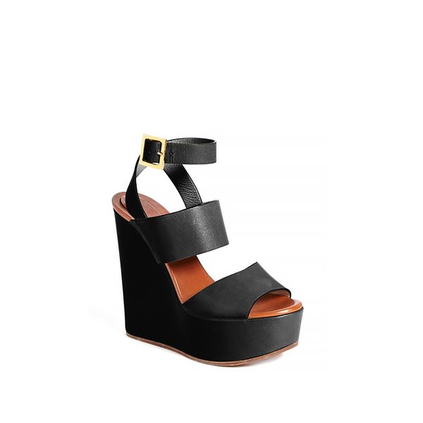 Chloe Central Wedge Sandals