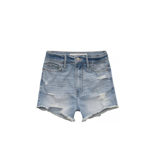 Abercrombie & Fitch Natural Waist Short Shorts