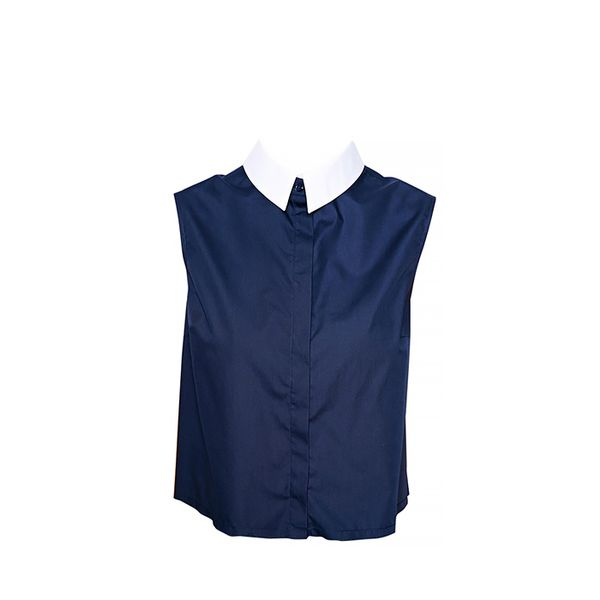 ASOS Sleeveless Skirt with Contrast Collar