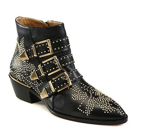 Chloe Suzanna Studded Boots