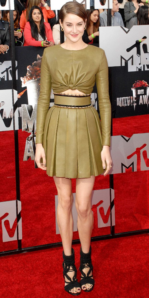 Shailene Woodley Nails It At The 2014 MTV Movie Awards
