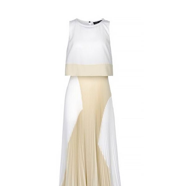 Proenza Schouler 3/4 Length Pleated Dress
