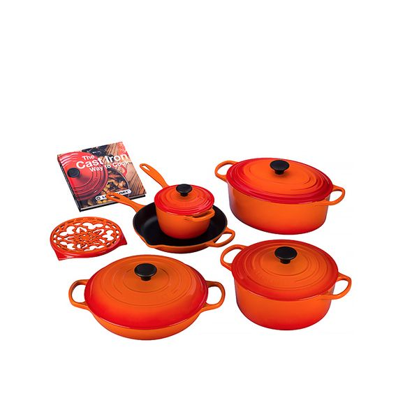 Le Creuset Cast Iron Set