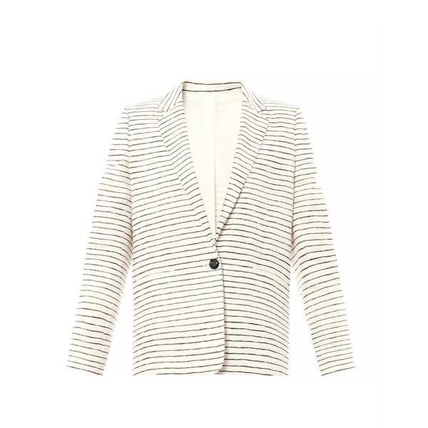 Acne Studios Boy Stripe Linen Blazer
