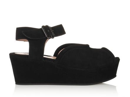 Carven Velvet Sandals