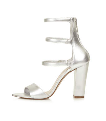 Topshop Romy Padded Strap Sandals