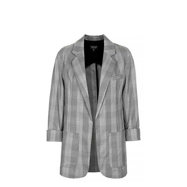 Topshop Mensy Check Jacket