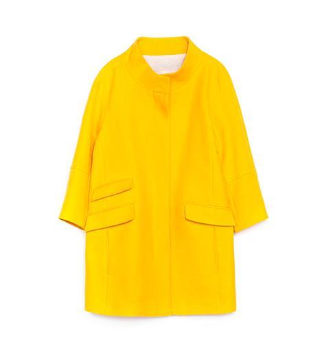 Zara Pique Coat