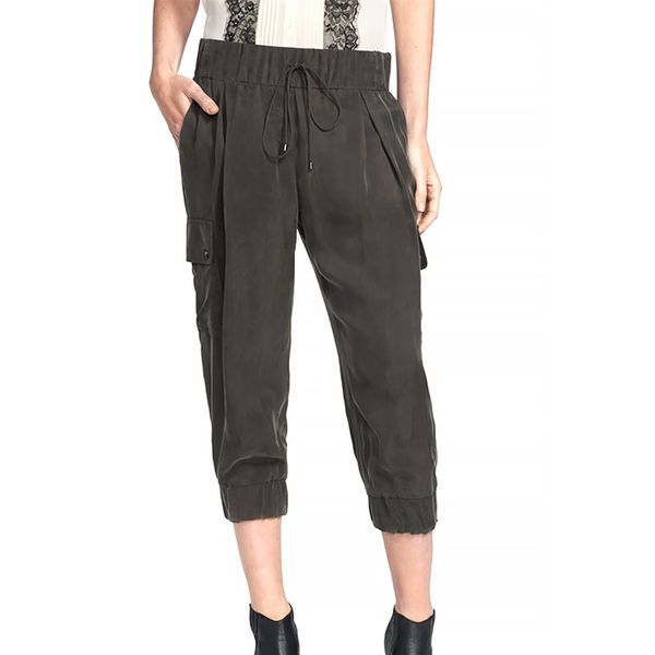 Haute Hippie Crop Cargo Pants