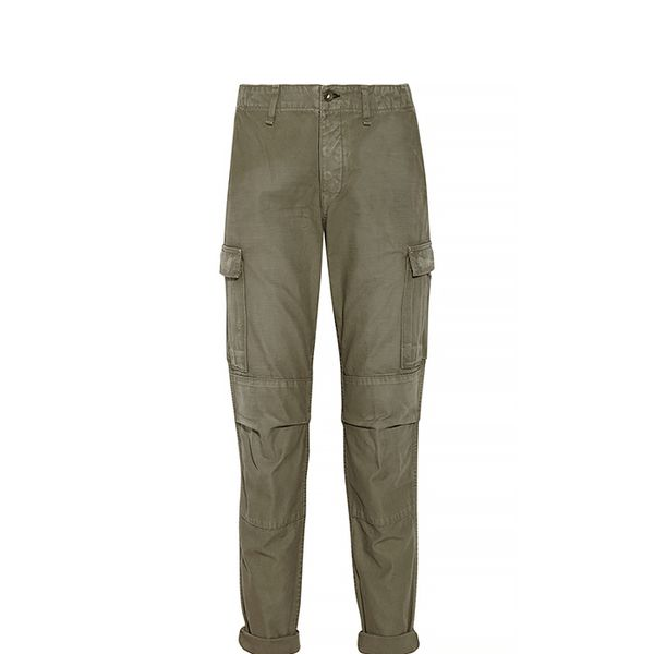 Rag & Bone Combat Mid-Rise Cotton-Canvas Cargo Pants