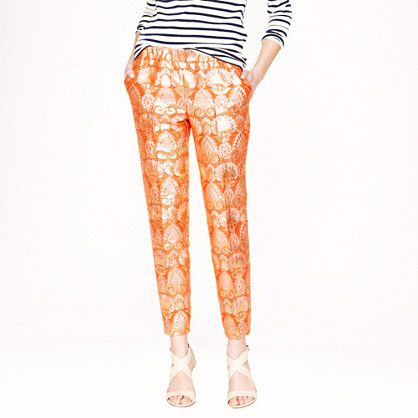 J.Crew Collection Cropped Pants