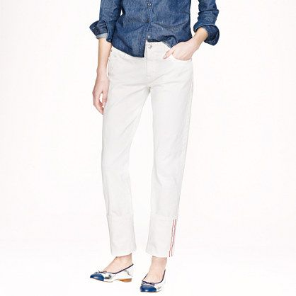 J.Crew Point Sur Slim Stacker Japanese Selvedge Jeans