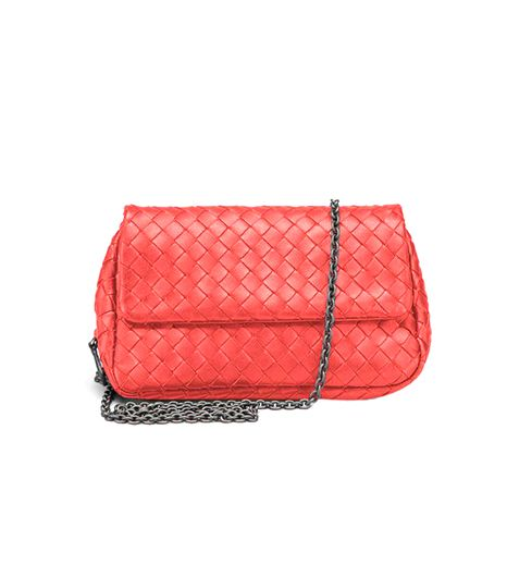 Bottega Veneta Intrecciato Nappa Messenger Mini Bag