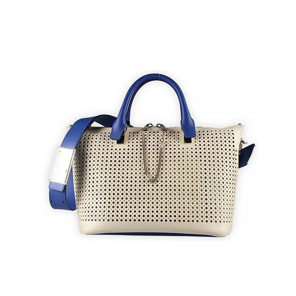 Chloe Baylee Medium Perforated Satchel