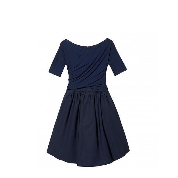 Carven Poplin Skirt Dress