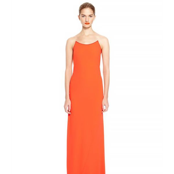 DKNY Maxi Illusion Dress