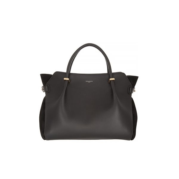 Nina Ricci Marche Leather and Suede Tote