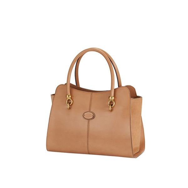 TOD'S Sella Shopping Zip Bag