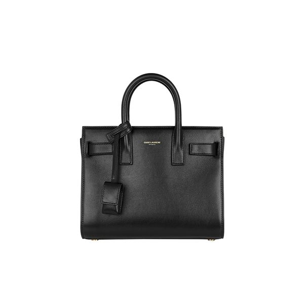Saint Laurent Sac De Jour Nano Baby Leather Tote