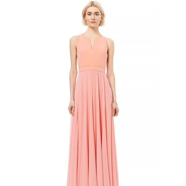 Rebecca Taylor Sleeveless Silk Gown