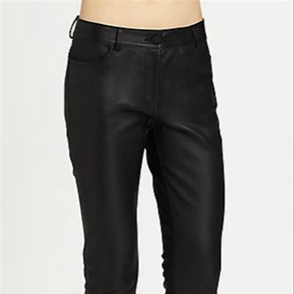 Alexander Wang Stretch-Leather Pants