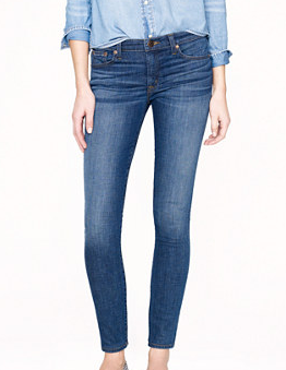 J Crew Stretch Toothpick Jeans