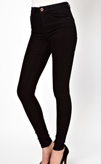 ASOS Ridley High Waist Ultra Skinny Jeans
