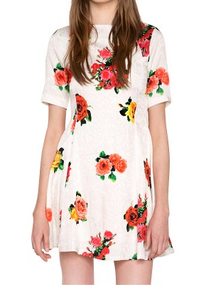 Pixie Market Rosebud Dress