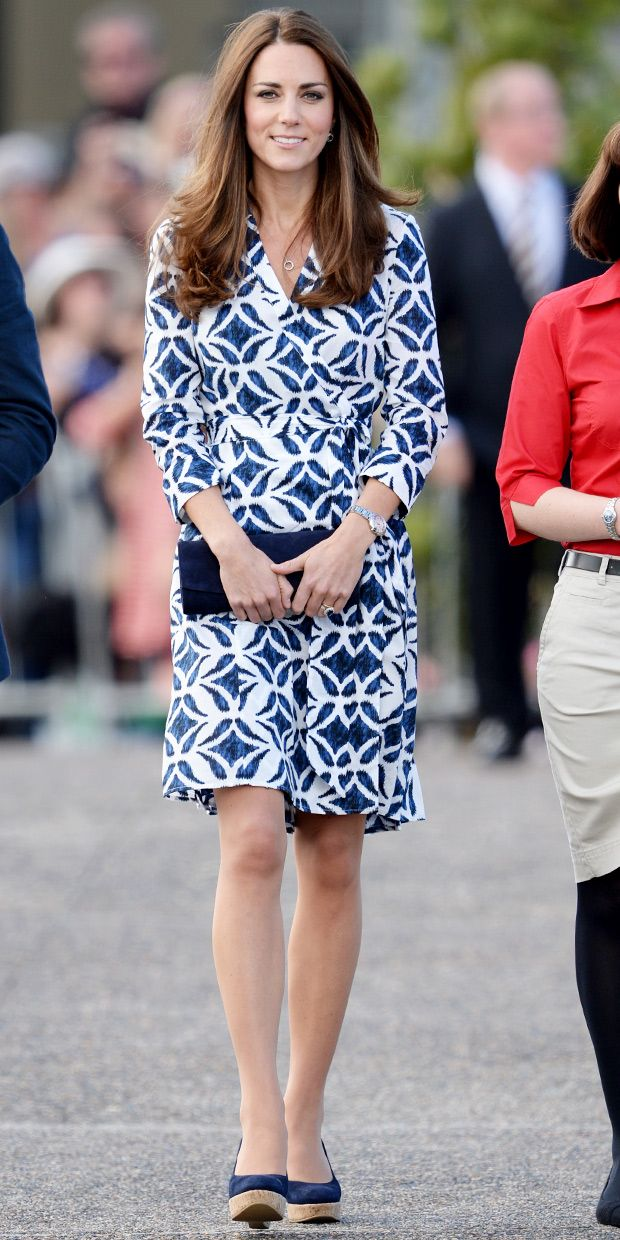 Kate Middleton's DVF Dress Can Be Yours