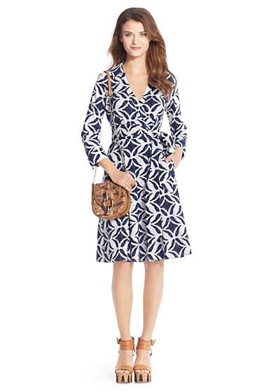Diane von Furstenberg Patrice Printed Wrap Dress